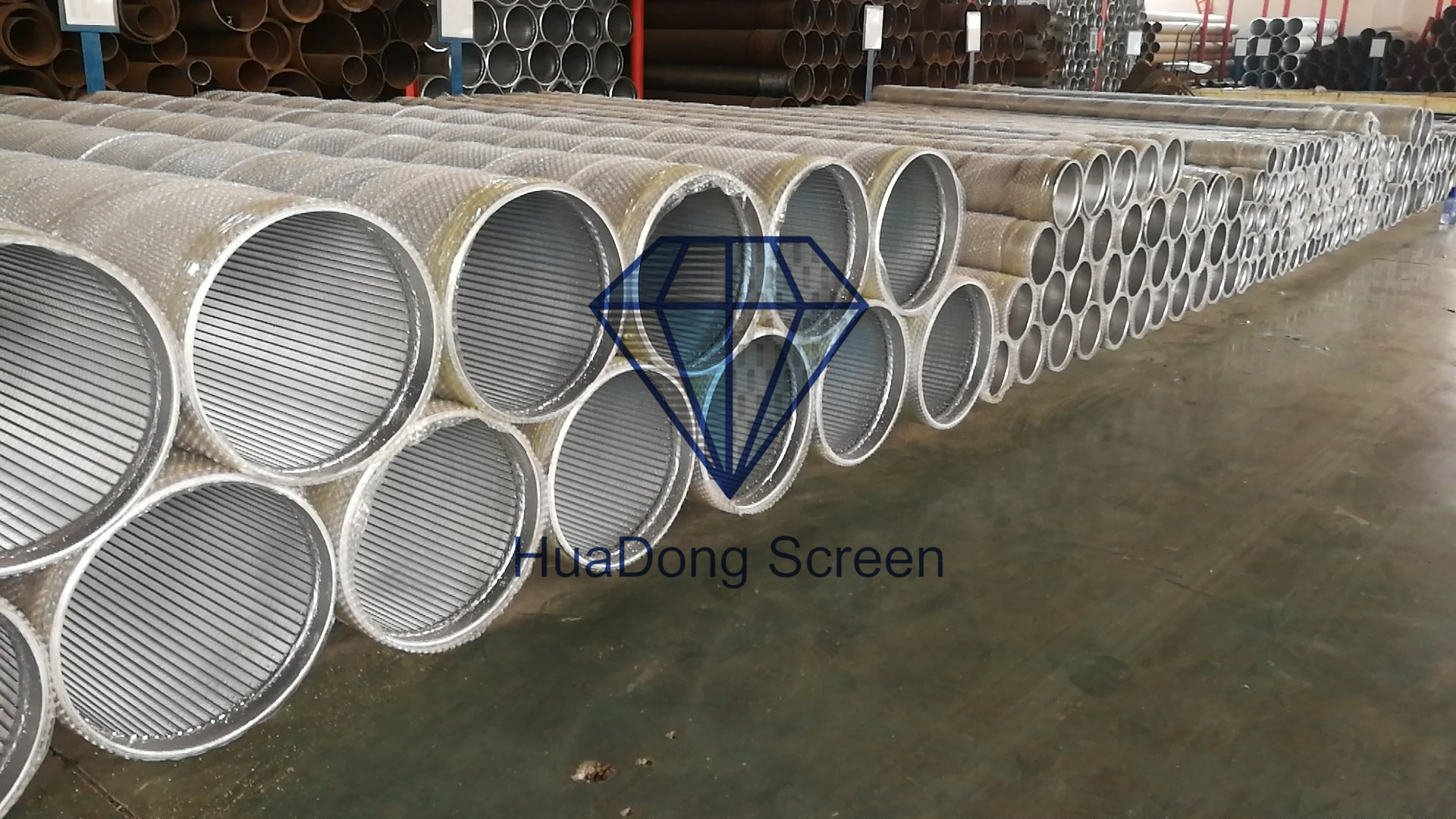 Stainless steel Johnson well screens