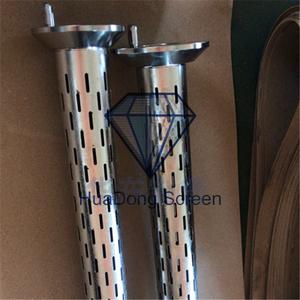 5寸不銹鋼316割縫鉆桿濾清器 石油泥漿過濾管